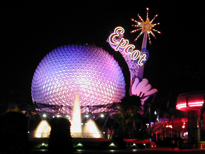 Epcot is one of many Disney theme parks in Florida.
